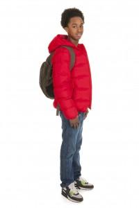 Black school boy
